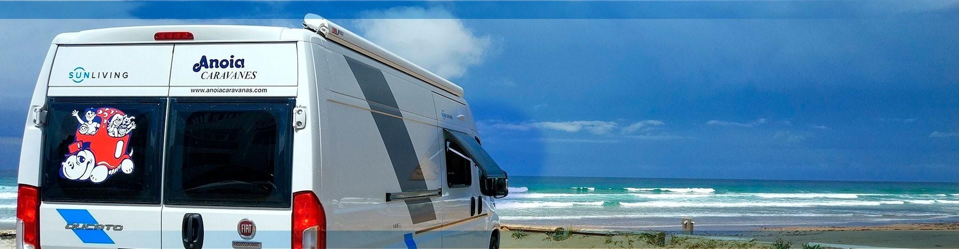 Alquiler Autocaravana Camper - Anoia Caravanas